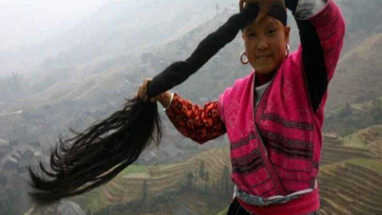 Secrets of the Long Black Hair of Yao Women